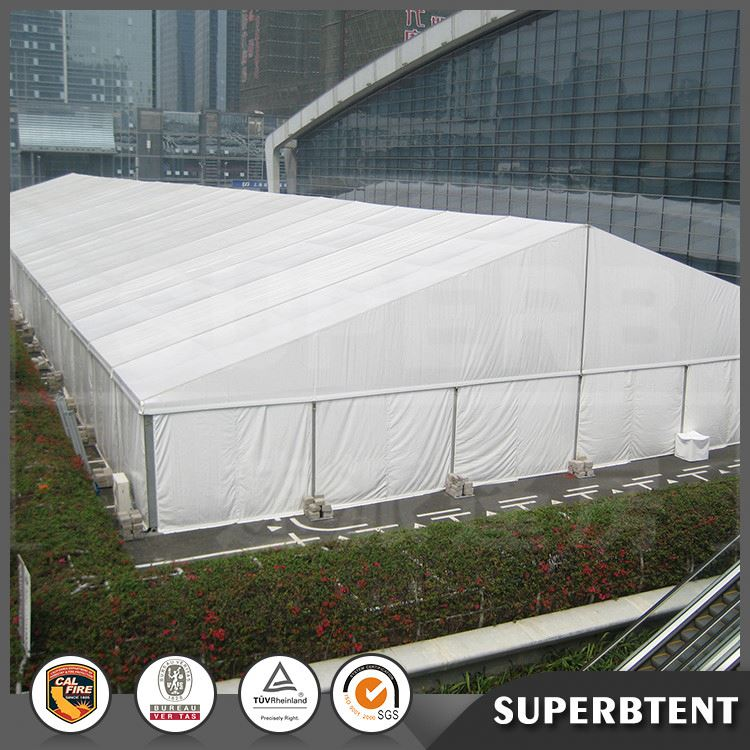 Hot sale outdoor decoration white warehouse tent