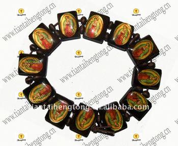 Virgin Mary Rosary Bracelet