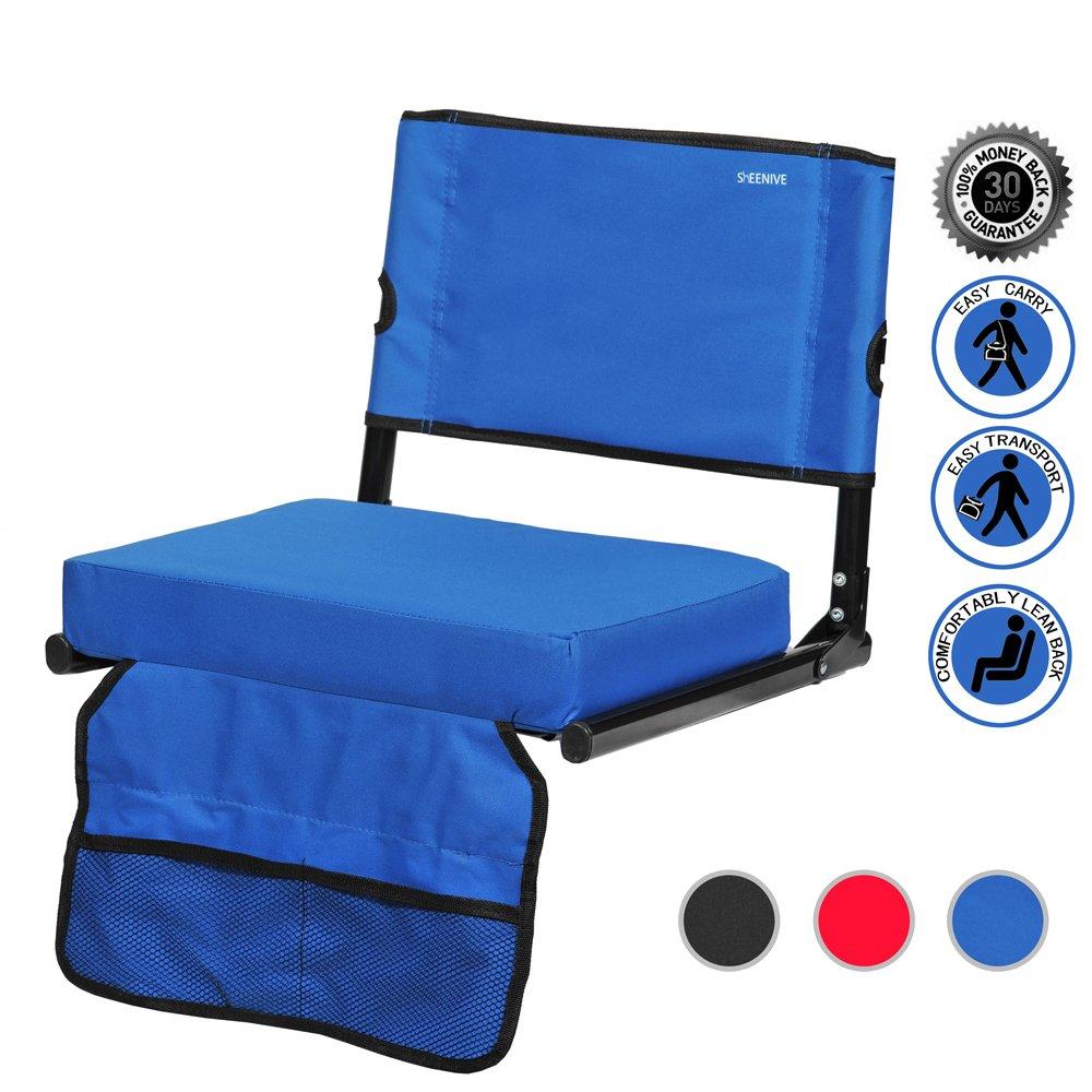 Buy Sheenive Stadium Seat Wide Padded Cushion Stadium Chairs Seats