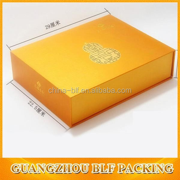 (BLF-GB1548) color printing folding storage box and golden gift box