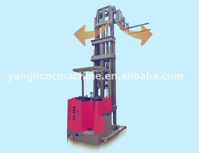 Yl Series 3-way Pallet Stacker With 180 Rotating Fork