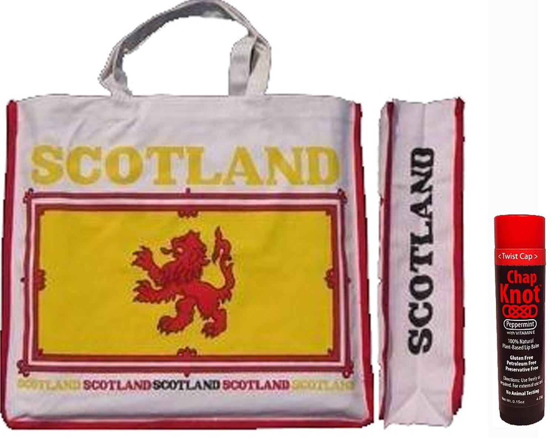 Scotland Rampant Lion Tote Bag & Chap Knot