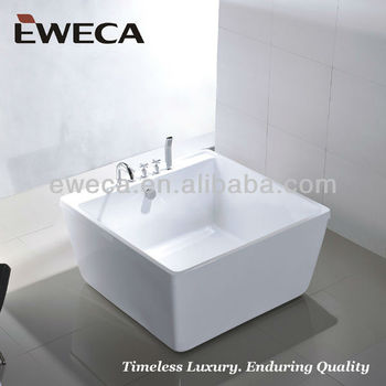 2 person square chinese soaking tub