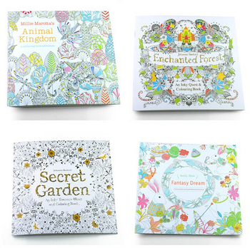Secret Garden An Inky Treasure Hunt Coloring Book Adult Pages