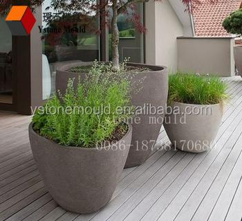 Large Fiberglass Garden Pot Mold Concrete Planter Mold Buy