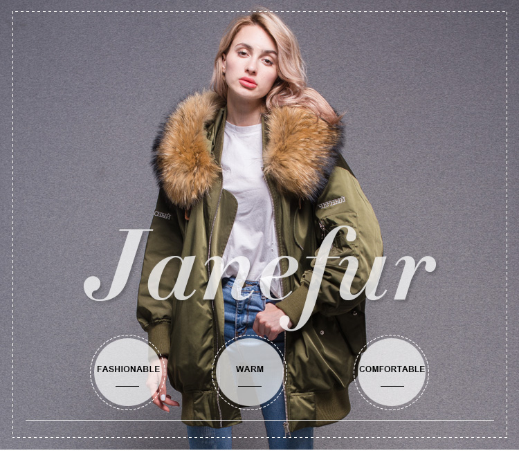 9f7bff4c8 Hot Style European Warm Oversize Coat Removable Down Feather Lining ...