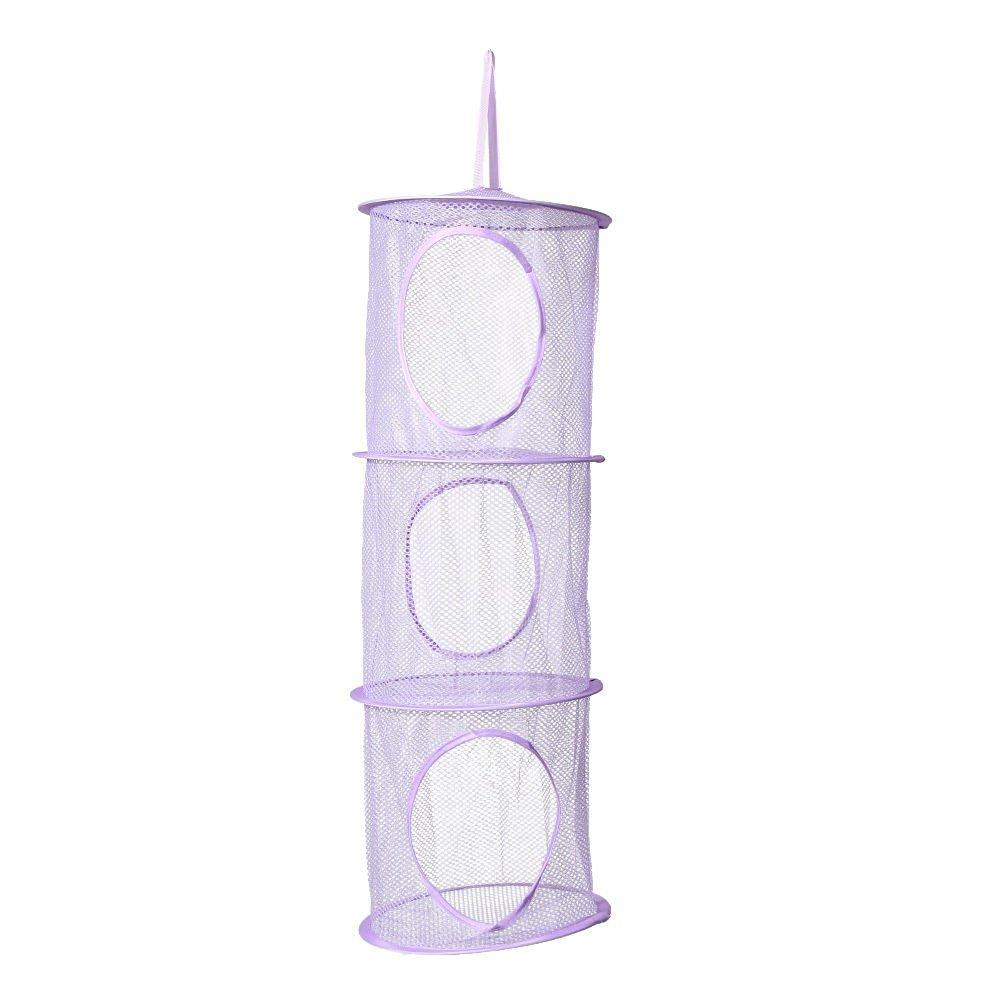 New 3 Shelf Hanging Bag Door Holder Net Storage Organizer Closet Hanger Wall Organizer Purple  sc 1 st  Alibaba & Buy New 3 Shelf Hanging Bag Door Holder Net Storage Organizer Closet ...