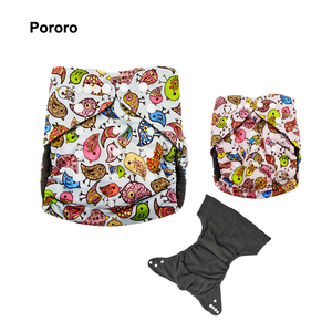 Pororo Heathy Baby Diapers Manufacturer Organic Cloth Nappies