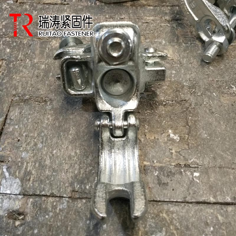 British drop forged swivel anti-slip coupler