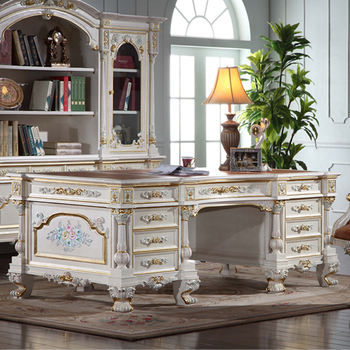 Italian Style Office Furniture High End Wooden Executive Desk
