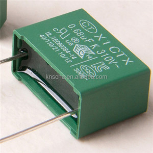 AJC Capacitor X1 155K 330VAC,UL VDE ENEC approval Interference suppression class X1 capacitor.Hot sale in Russia Market.