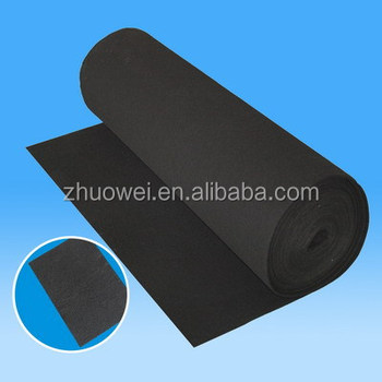 Pm2.5 Odor Removel Activated Carbon Felt Carbon Filter Media