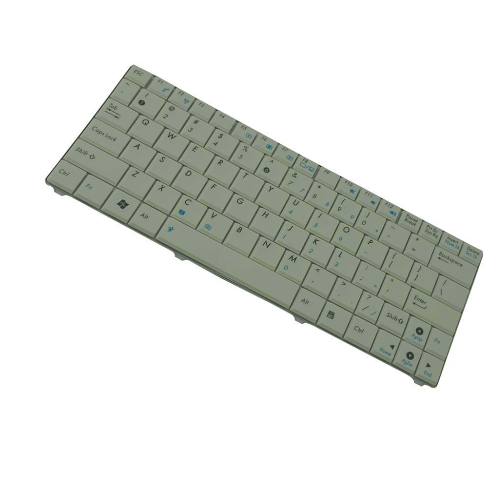 YEECHUN White US Keyboard for ASUS Eee pc 1101HA 1101-HA Series New Notebook Replacement Accessories