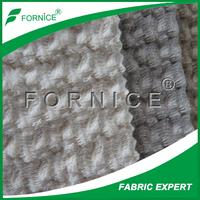 Super Soft Fabric 100%Polyester Bonded Weft Knitted Velvet For Sofa Spain Market