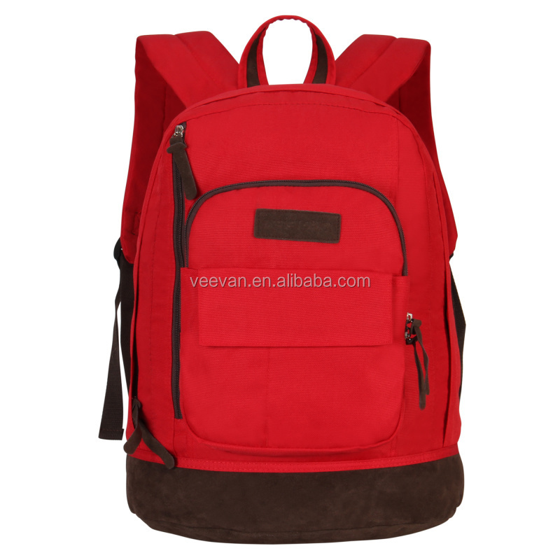 2017 Newest Promotional Fashion computer Rucksack Bag OEM School Backpack for teenagers