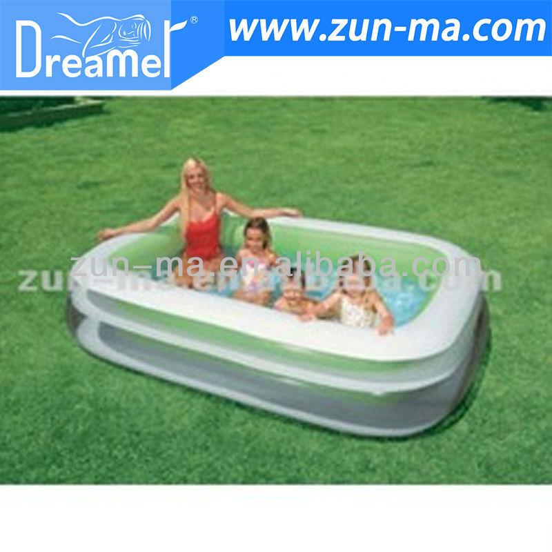 Superior Familien Swimmingpool Der Heißen Lache Des Verkaufs 2012 Aufblasbaren  Plastik   Buy Product On Alibaba.com