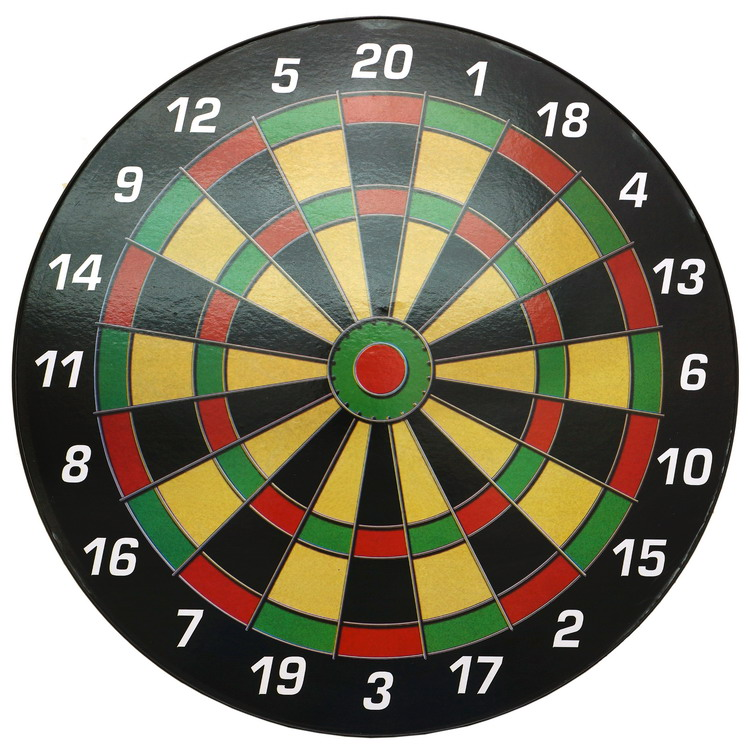 Safety Magnetic Dartboard Set 40 cm Dart Board with Fun for kids