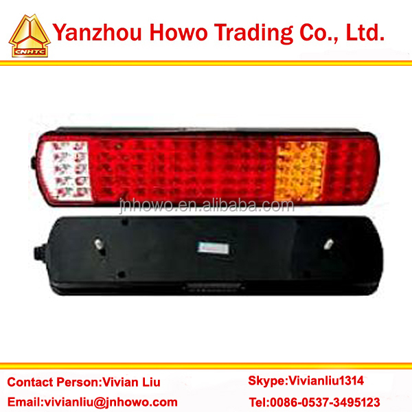 Hot Sale Truck part HOWO led tail light AZ9719818001