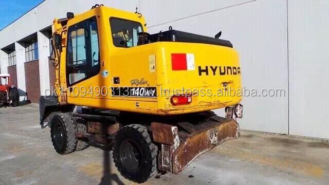 Used Hyundai R140w Wheel Excavator,Used Hyundai 130 /140 /150 Wheel  Excavator - Buy Used Daewoo Wheel Excavator,Hyundai 210 Wheel  Excavator,Mini Wheel