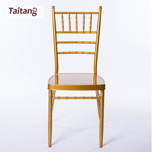 Stacking Wedding Banquet Used Metal Chiavari Chairs