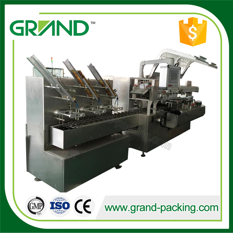 high capacity hard gelatin capsule pills cartoning packing machine