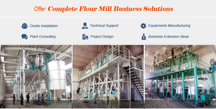 Low price home use small scale wheat flour milling grinding processing machine for 10t mini wheat flour production plant