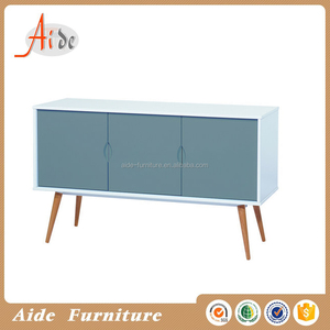 modern rubber wood dining sideboard for sale