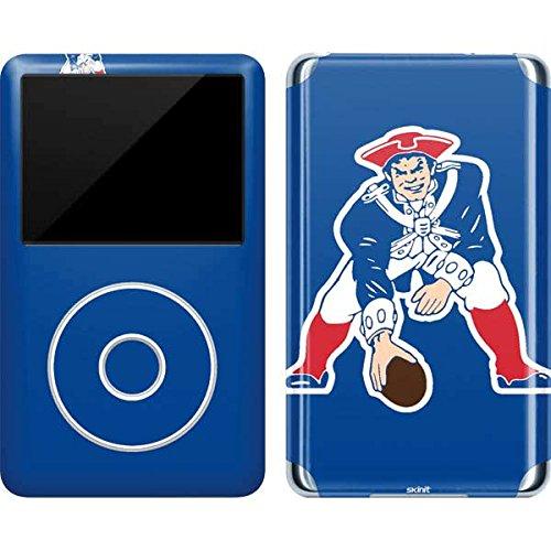 NFL New England Patriots iPod Classic (6th Gen) 80 & 160GB Skin - New England Patriots Retro Logo Vinyl Decal Skin For Your iPod Classic (6th Gen) 80 & 160GB