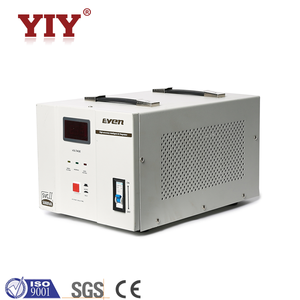 SVC 1500VA digital single phase micro controlled circuit automatic voltage  regulator price with current transformer