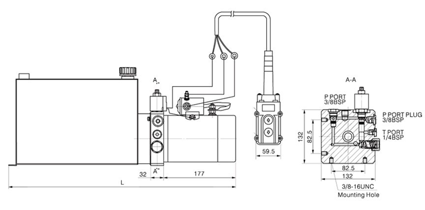 Mini Hydraulic Power Unit Pack For Tipper Trailer Buy