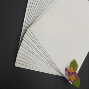 laminated paper board coated duplex board with grey back