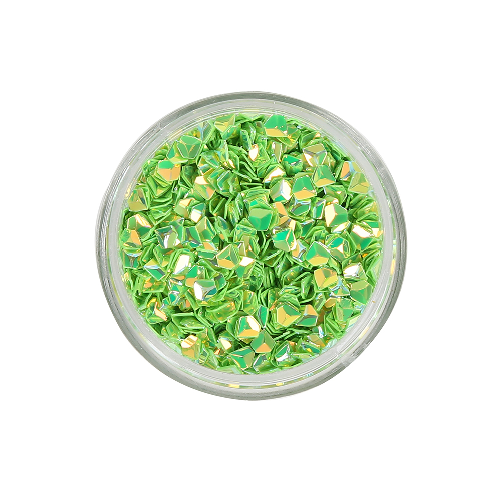 Export quality colorful loose sequins professional diamond shiny pvc sequin