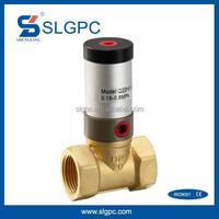 Brass body new type fluid brass oil air control valve Q22HD-20