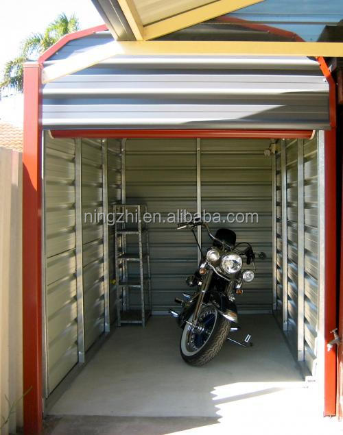 Motocycle storage shed motorbike carport shed with for Carport 6x9m