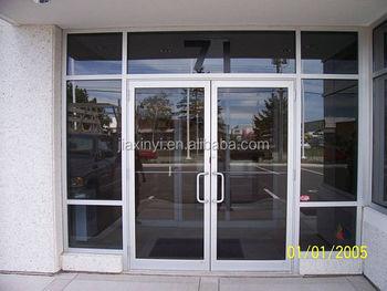aluminium commercial office shop front glazing doors & Aluminium Commercial Office Shop Front Glazing Doors - Buy Aluminum ...