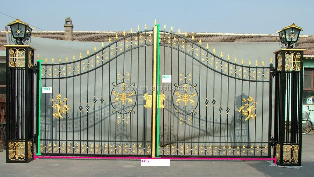 China Made Sliding Iron Main Gate Design Buy Main Iron Gatemain