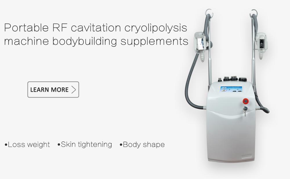 Multifunctional cavitation rf cryolipolysis machine for body slimming