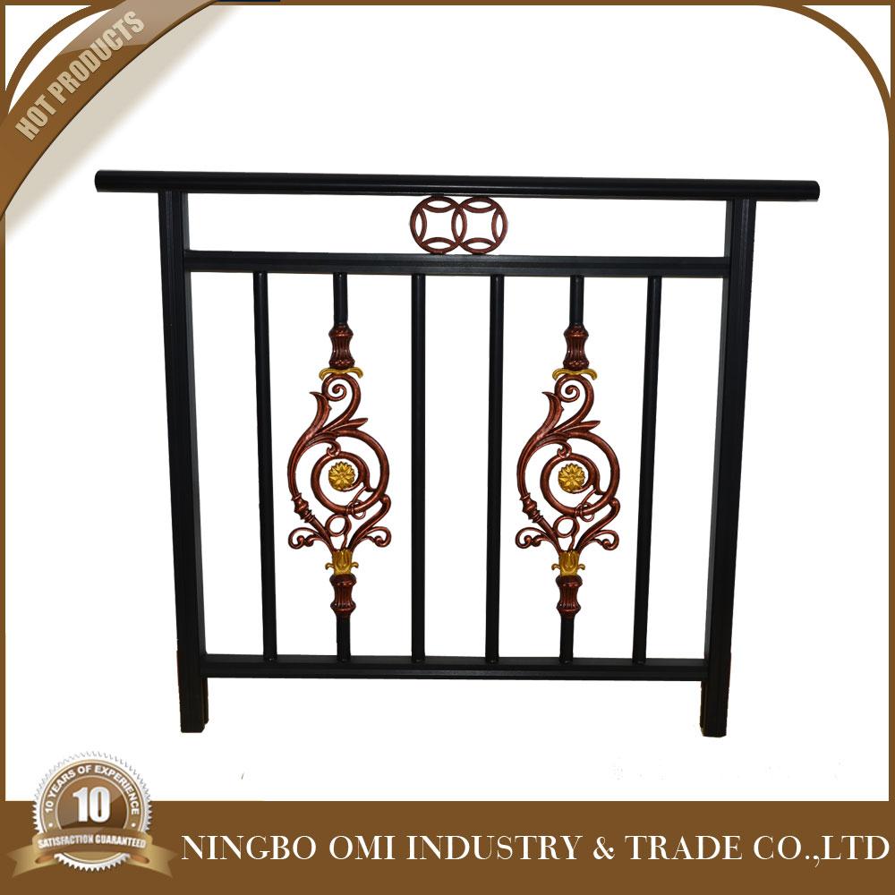 Steel Pipe Handrail Steel Handrail Balustrade For Balcony