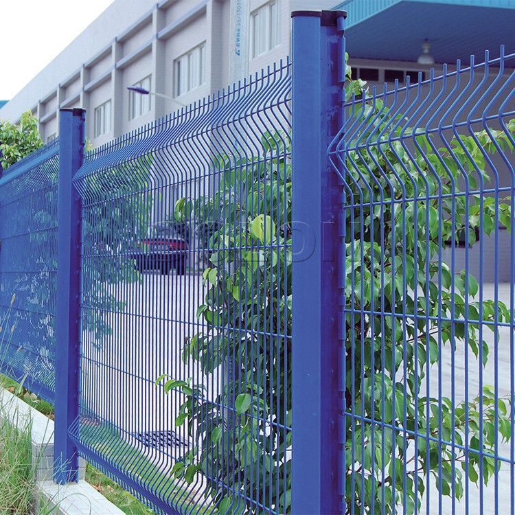 Golon High Quality Curve Mesh Fence Panel From Galvanized Welded ...