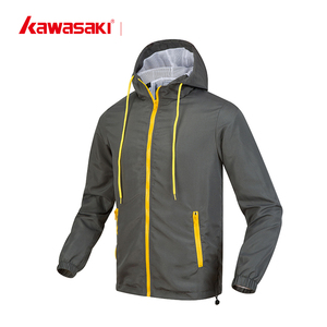 Custom wholesale hooded running windbreaker jacket