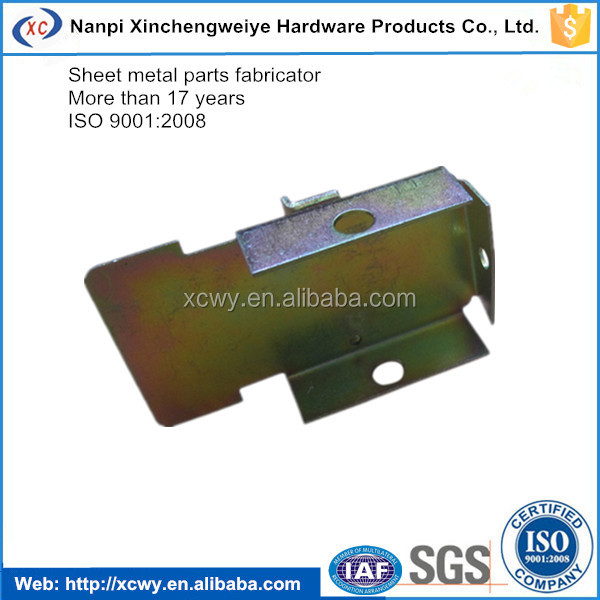 2016 structure steel fabrication tin plating stamping part