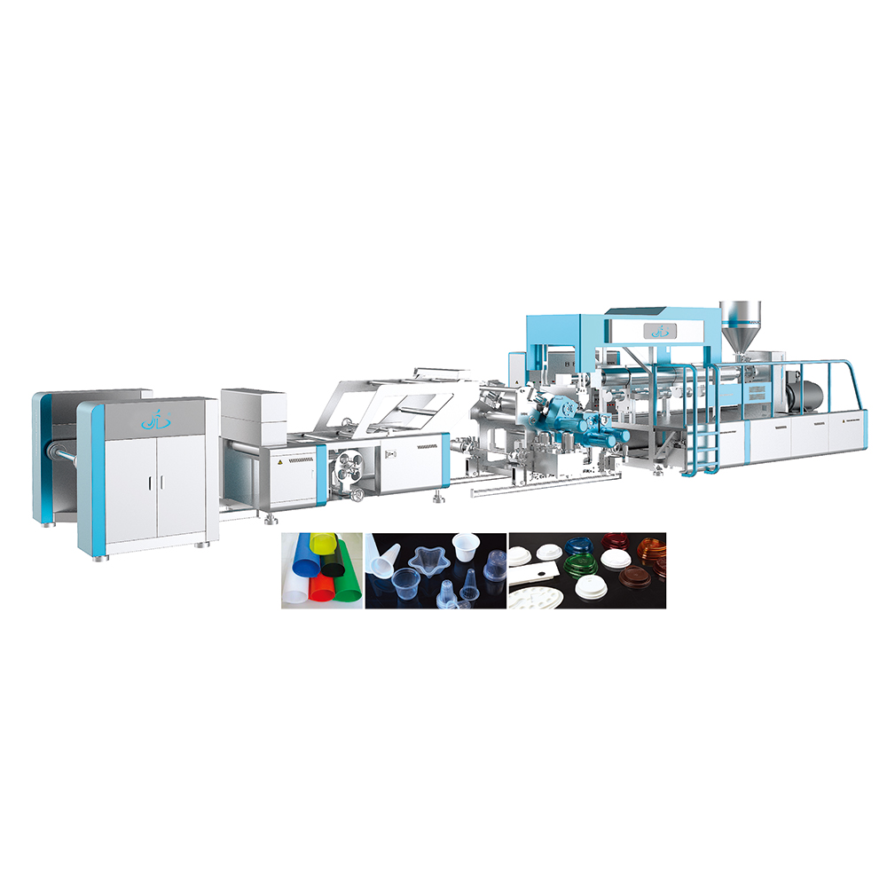 Plastic pe extrusie coating film making machine, plastic product maken machines