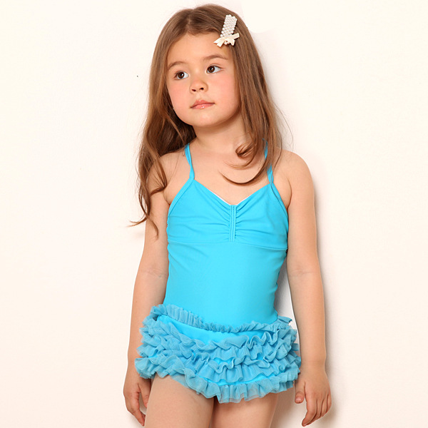 2015 children's bathing suits child one-piece Beachwear triangle Swimwear for girls Baby Swimsuit Kids swimsuit hot sale fr30