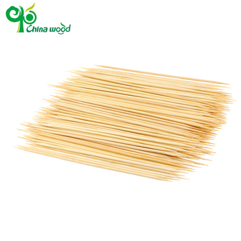 Exquisite workmanship bamboo round grilling skewers wholesale
