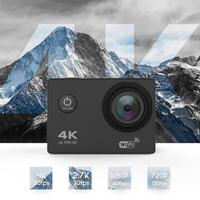DveeTech Christmas promotion Go Pro Style Ultra Hd Wifi 170 degree 4k@30fps Sport Action Camera 16MP