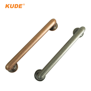 Best Price Antique Silver Copper Push Pull Kitchen Cabinet Metal Handle