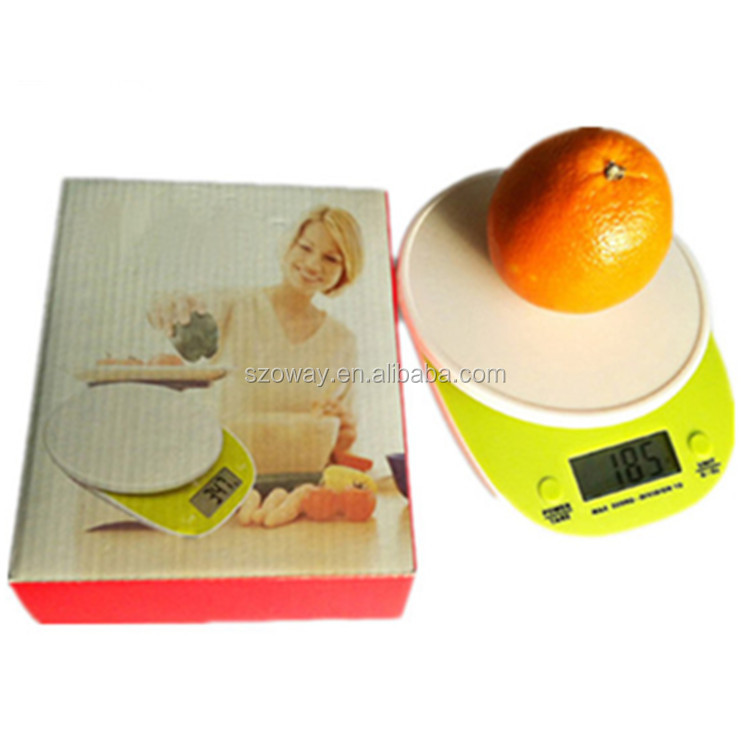 2015 new arrival best digital kitchen scales food sacles household