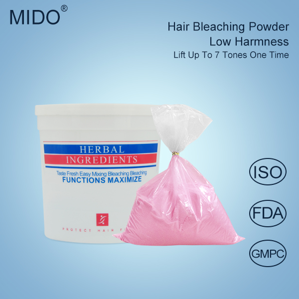 China Professional Hair Color Brands OEM Manufacture Wholesale Mild Formula Dust Free Organic Hair Bleaching Powder