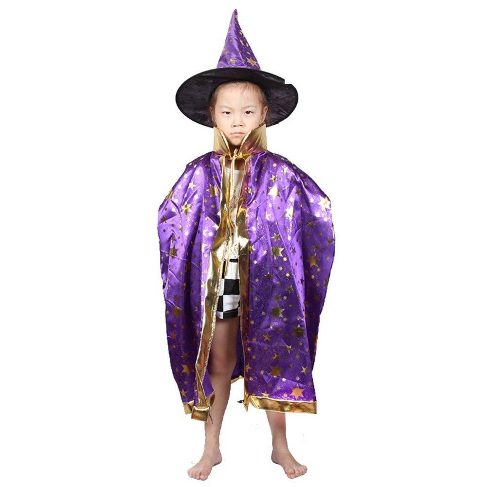 Halloween Cloak/children's clothing/Magician cloak/Child witch/Cloak cloak cap-E