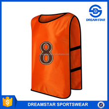Custom tied Number Soccer Training Vest Manufacturer